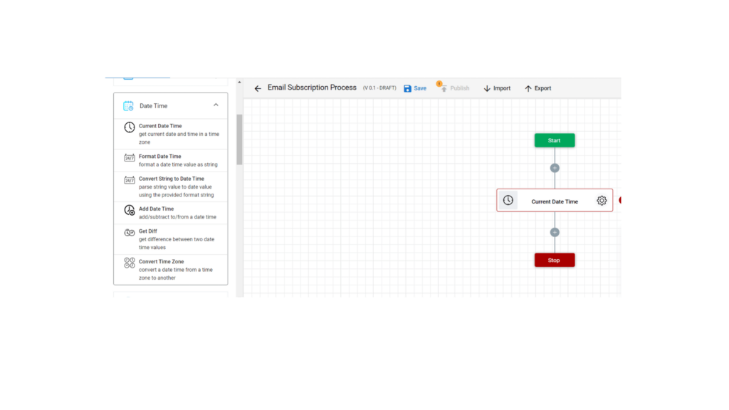 Step 6. Email signup workflow automation using zenphi