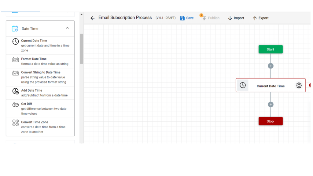 Step 5. Email signup workflow automation using zenphi