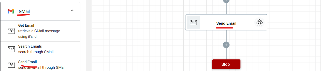 Adding Send Email step to the document approval workflow.