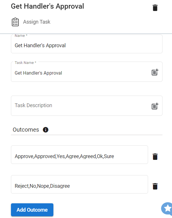 Step 14.2. Configure the Assign Task step.