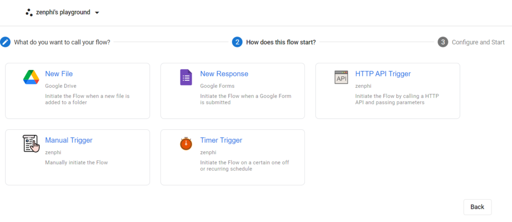 zenphi google forms workflow automation trigger