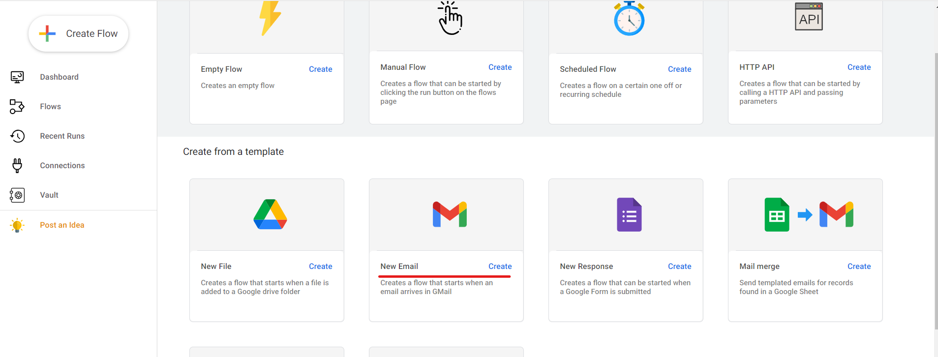 Gmail Workflow automation using zenphi Step# 02.