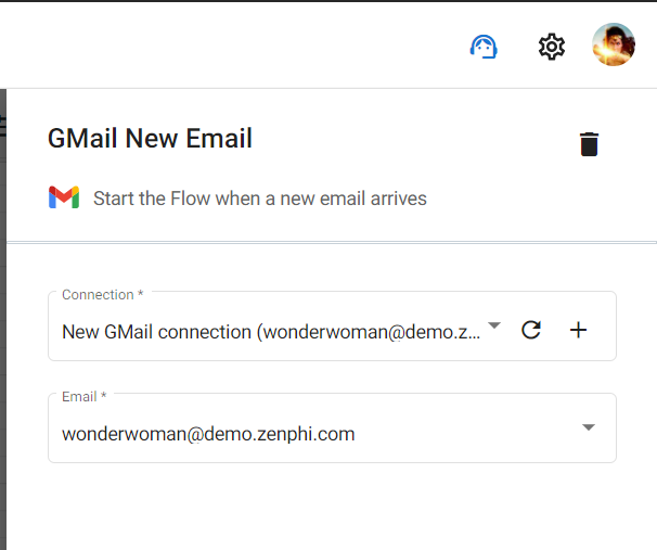 Gmail Workflow automation Step# 03.