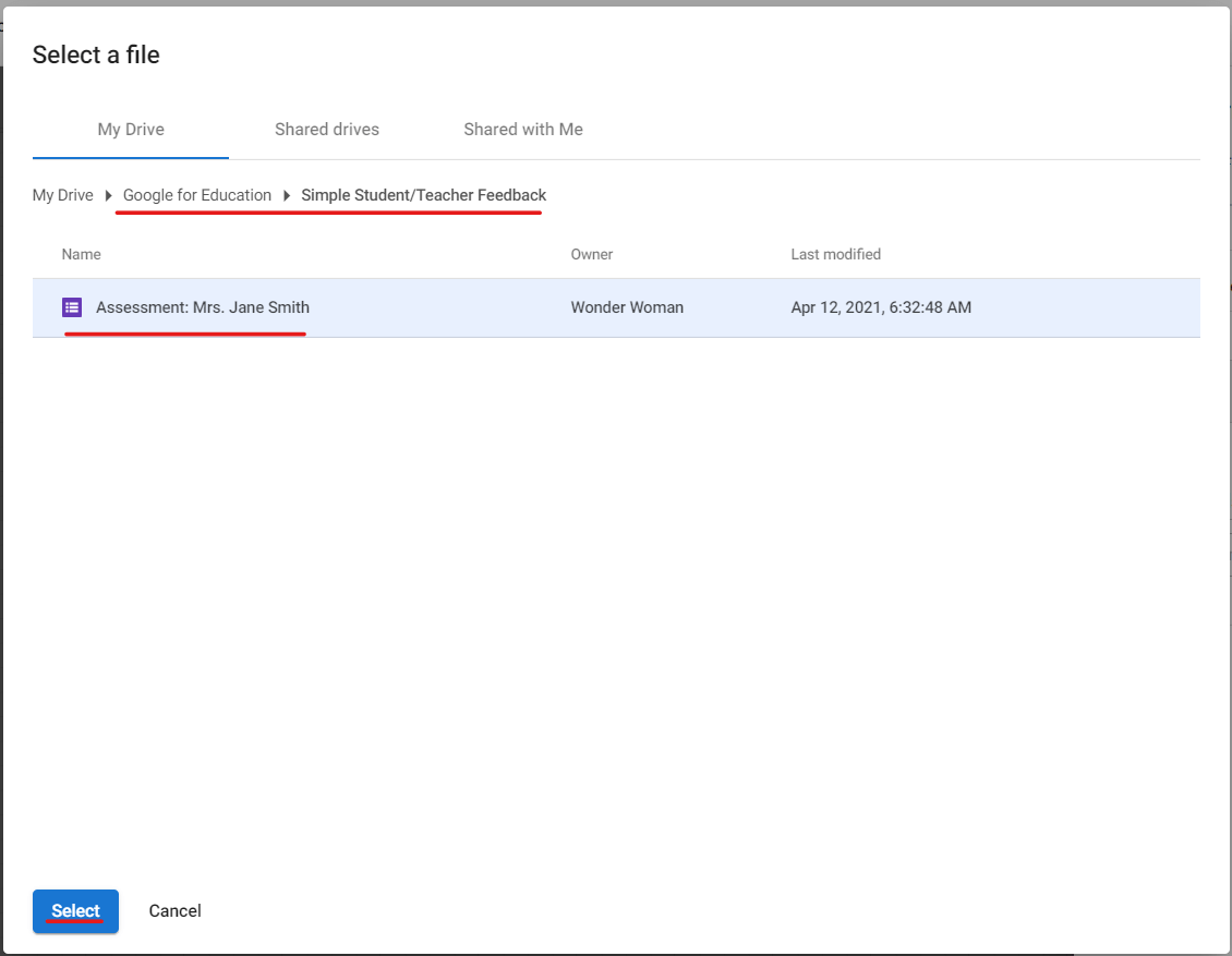Automate Your Google Workspace for Education Workflows Step#7.