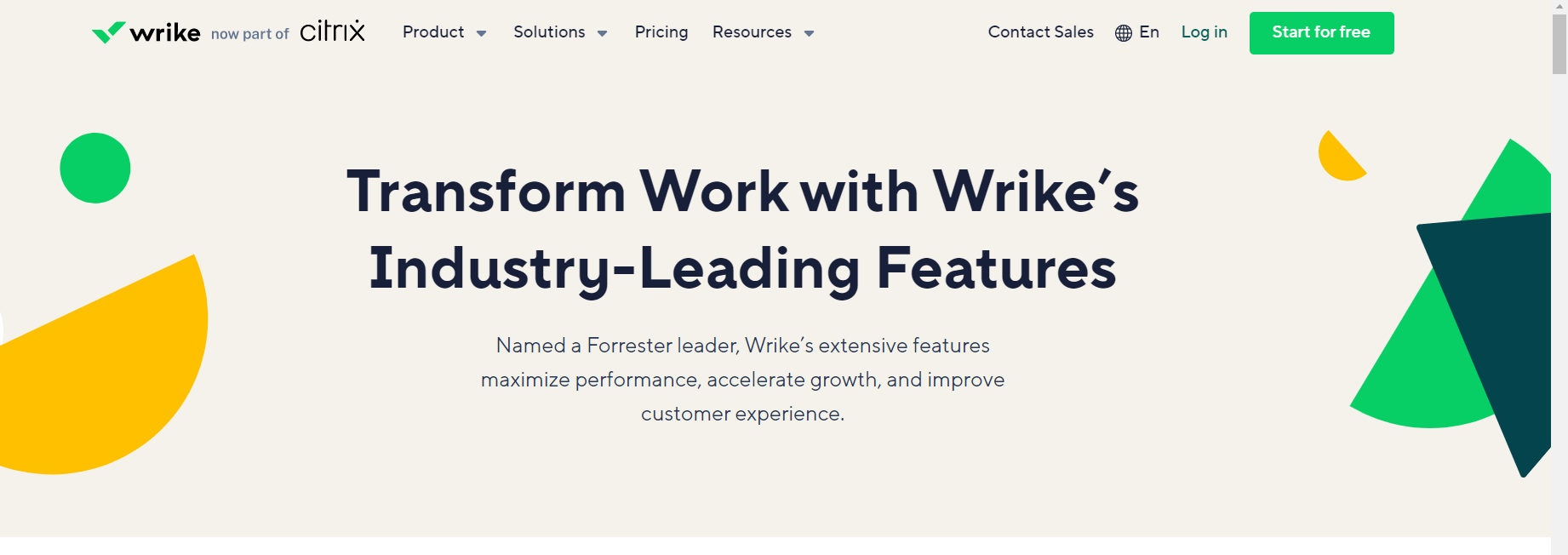 Wrike is a workflow management tool best for large enterprises.